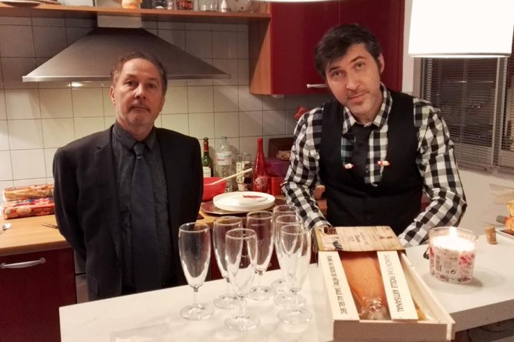 Sylvain et Christophe