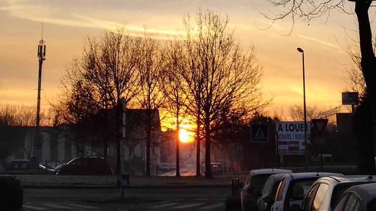 Sunrise à Voisins