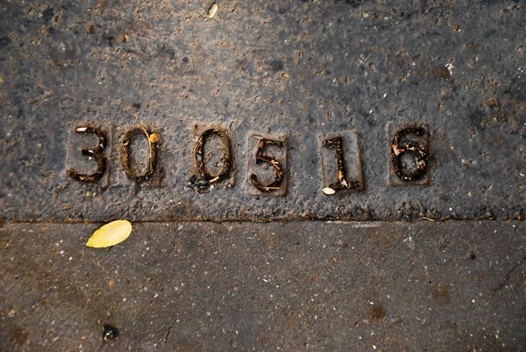 Numéros sur le bitume