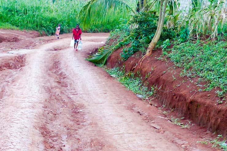 Route de l'eau