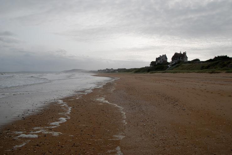 Promenade en soirée sur la plage