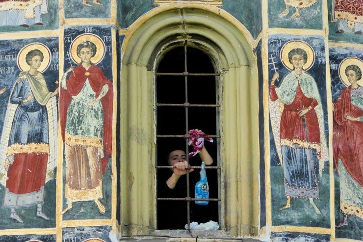 La Mère Denis en vacances en Roumanie
