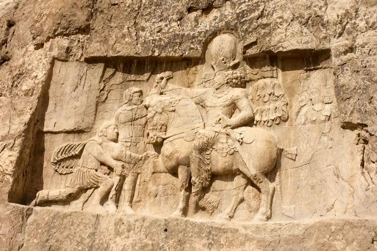 Bas-relief triomphant
