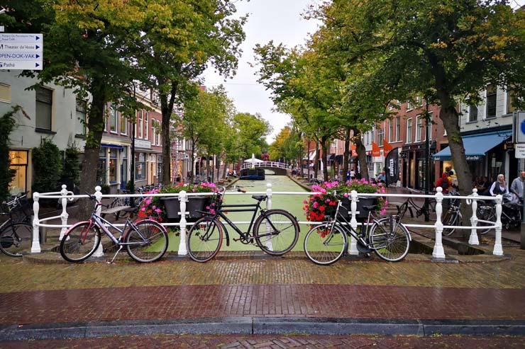 Canaux à Delft