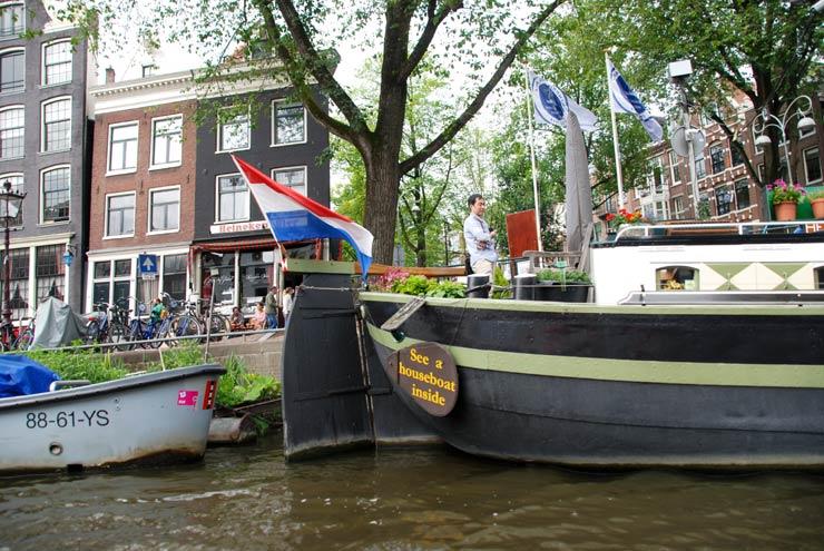 Houseboat à Amsterdam