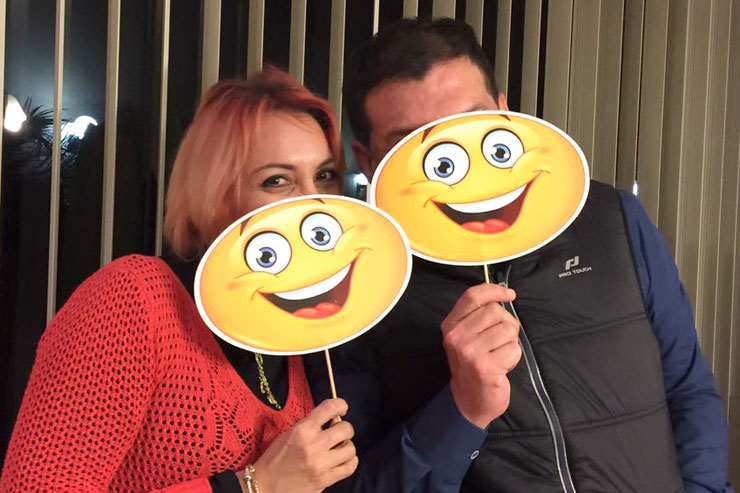 Smiley péruvien